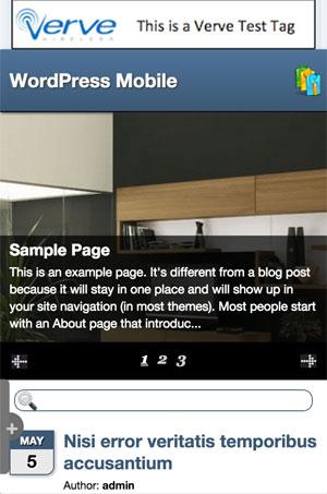 WP Mobile Detectorのデザイン例